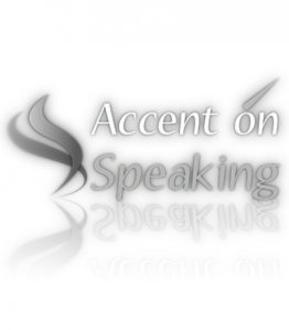 Accent on Speaking logo