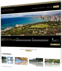 Luxury Real Estates - web design and development